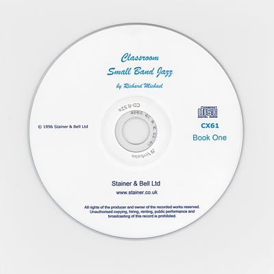 Michael, Richard: Classroom Small Band Jazz. Book 1. Backing CD