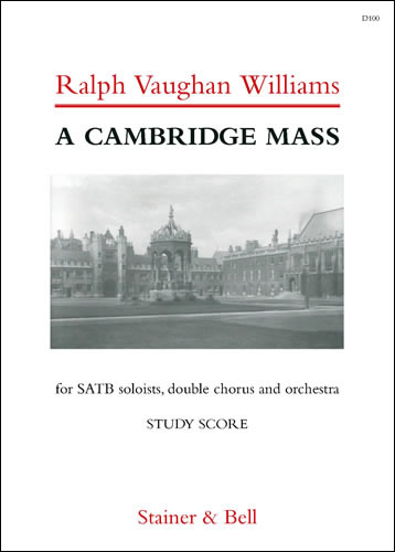 Vaughan Williams, Ralph: Cambridge Mass, A. Study Score