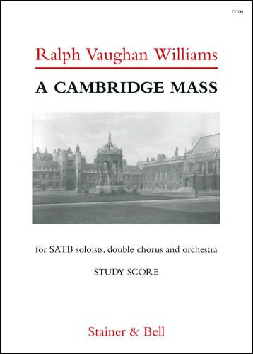 Vaughan Williams, Ralph: Cambridge Mass, A. Study Score