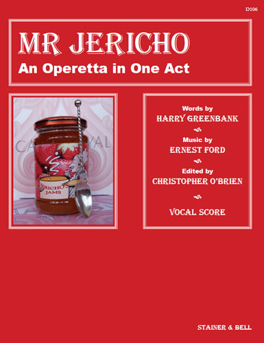 Ford, Ernest: Mr Jericho. Vocal Score