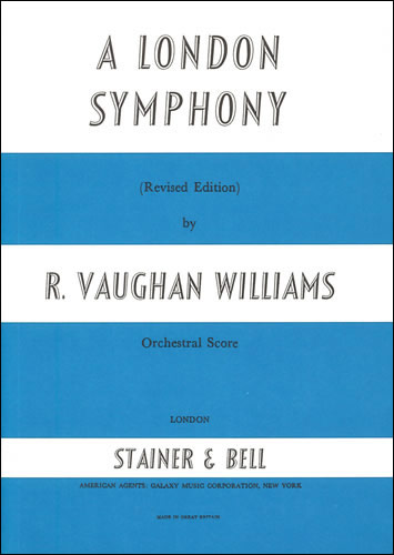 Vaughan Williams, Ralph: London Symphony, A. Study Score