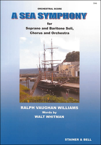 Vaughan Williams, Ralph: Sea Symphony, A. Study Score