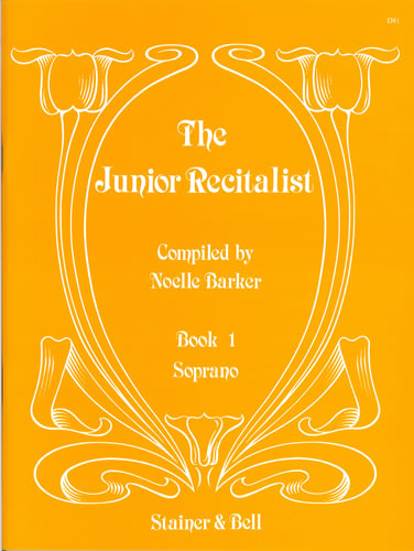 The Junior Recitalist Book 1. Soprano