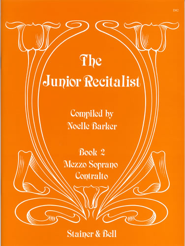 The Junior Recitalist Book 2. Mezzo-soprano/Contralto