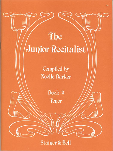 The Junior Recitalist Book 3. Tenor