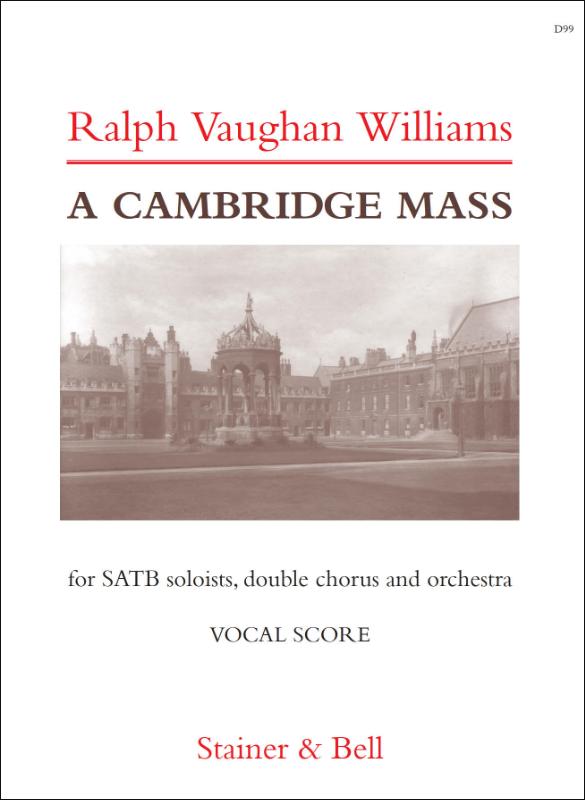 Vaughan Williams, Ralph: Cambridge Mass, A. Vocal Score
