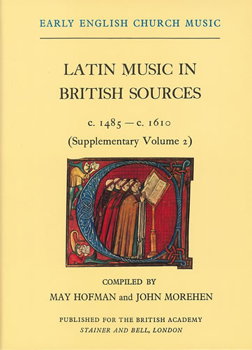 Latin Music In British Sources C.1485-c.1610