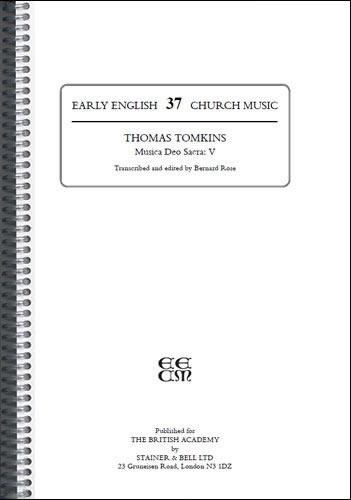 Tomkins, Thomas: Musica Deo Sacra: V