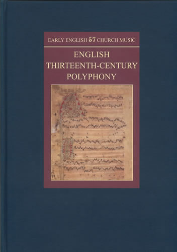 Manuscripts Of English Thirteenth-Century Polyphony