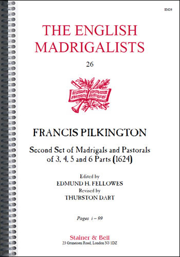 Pilkington, Francis: Second Set Of Madrigals (1624)