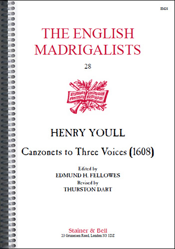 Youll, Henry: Canzonets To Three Voices (1608)