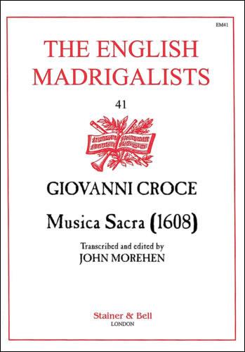Croce, Giovanni: Musica Sacra (1608)