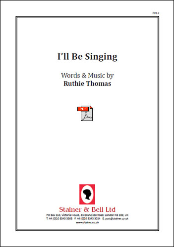 Thomas, Ruthie: I'll Be Singing. PDF File