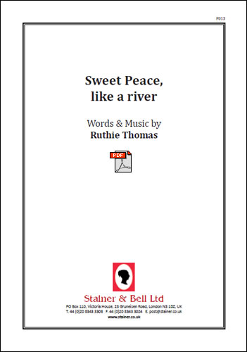 Thomas, Ruthie: Sweet Peace, Like A River. PDF File