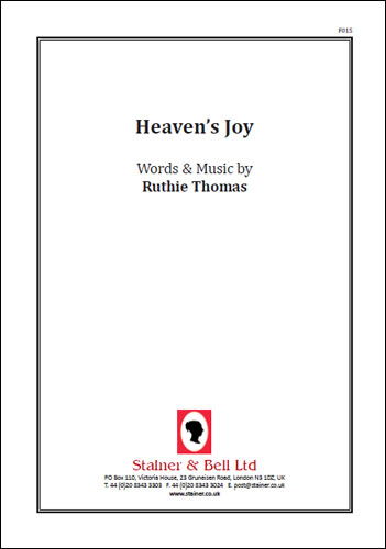 Thomas, Ruthie: Heaven's Joy. PDF File
