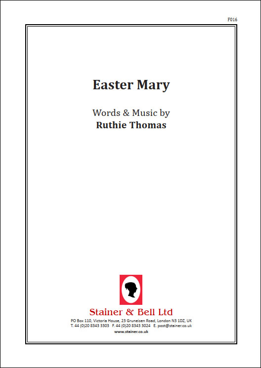 Thomas, Ruthie: Easter Mary. PDF File
