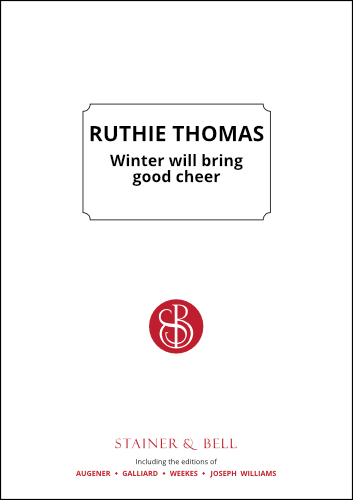 Thomas, Ruthie: Winter Will Bring Good Cheer. PDF File