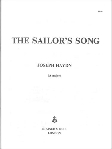 Haydn, Joseph: The Sailor's Song. A Major