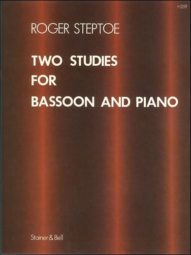 Steptoe, Roger: Two Studies For Bassoon And Piano
