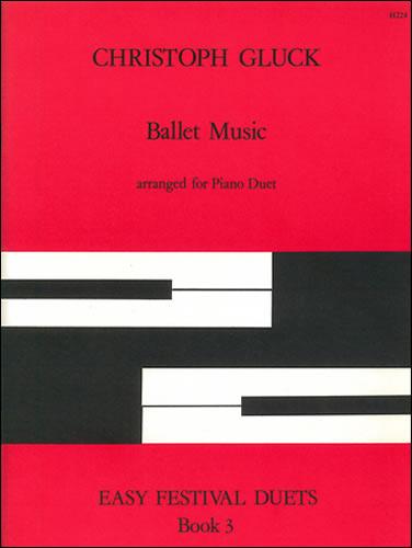 Gluck, Christoph: Ballet Music. Arr Piano Duet