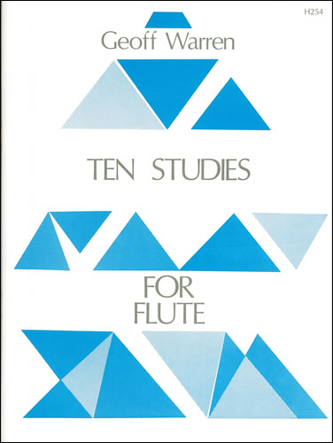Warren, Geoffrey: Ten Studies For Flute
