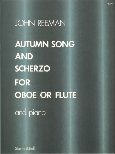 Reeman, John: Autumn Song  And Scherzo For Flute And Piano
