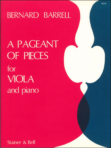 Barrell, Bernard: A Pageant Of Pieces For Viola And Piano