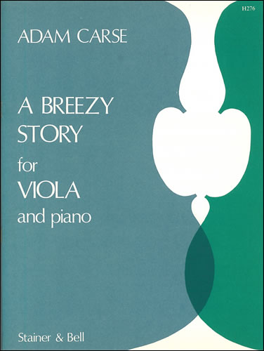 Carse, Adam: A Breezy Story For Viola And Piano