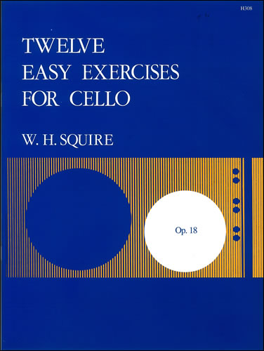 Squire, William Henry: Twelve Easy Exercises, Op. 18