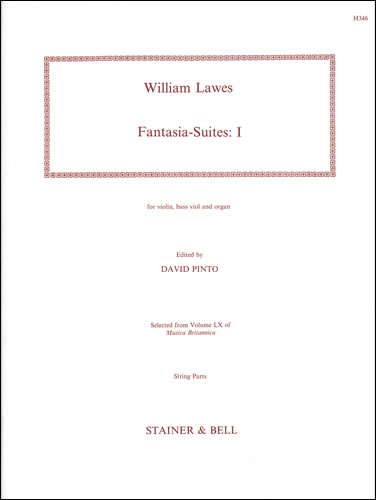 Lawes, William: Fantasia-Suites. Set 1. Violin, Bass Viol And Organ