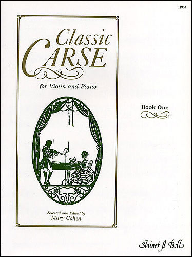 Carse, Adam: Classic Carse, Book 1 For Violin And Piano
