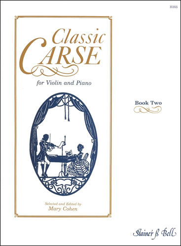 Carse, Adam: Classic Carse. Book 2 For Violin And Piano