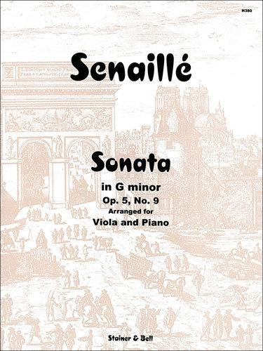 Senaillé, Jean Baptiste: Sonata In G Minor. Op. 5 No. 9 Arranged By Max Morgan For Viola And Piano