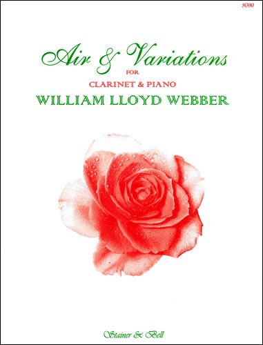Lloyd Webber, William: Air And Variations For Clarinet And Piano