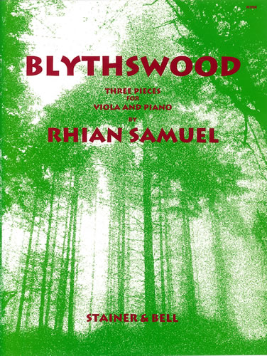 Samuel, Rhian: Blythswood. Three Pieces For Viola And Piano