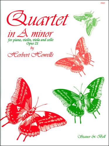 Howells, Herbert: Quartet In A Minor, Op. 21. Violin, Viola, Cello And Piano