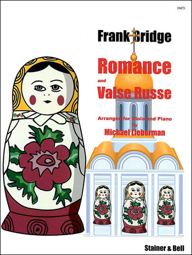 Bridge, Frank: Romance And Valse Russe Arr. For Viola And Piano