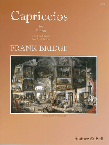 Bridge, Frank: Capriccios Nos. 1 And 2. Piano