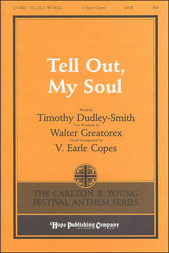 Greatorex, Walter: Tell Out, My Soul