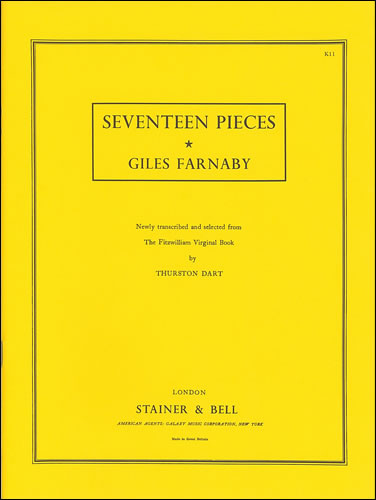 Farnaby, Giles: Seventeen Pieces