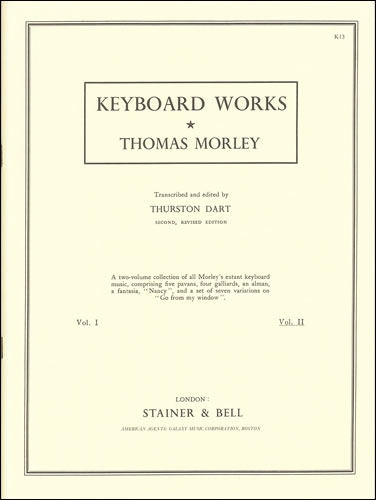 Morley, Thomas: Complete Keyboard Music. Book 2