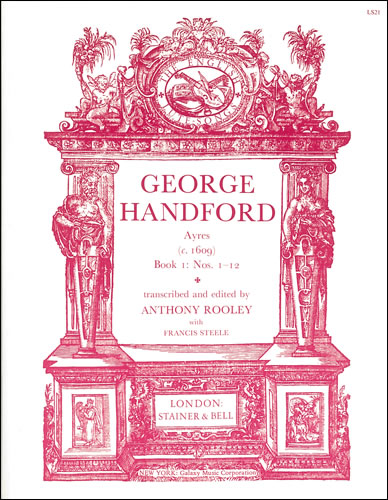 Handford, George: Ayres (c.1609). Book 1