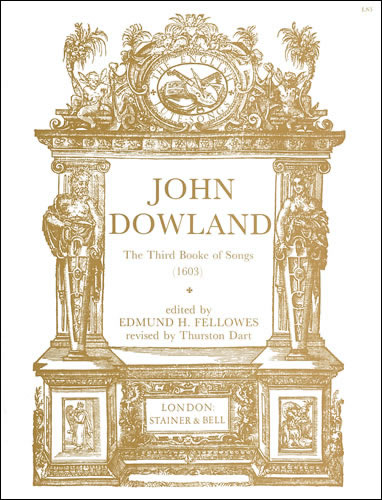 Dowland, John: The Third Booke Of Songs (1603)