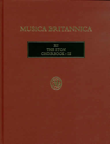 The Eton Choirbook III
