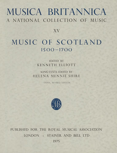 Music Of Scotland 1500-1700