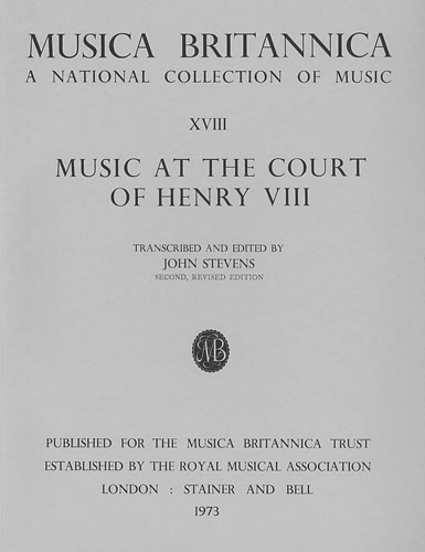 Music At The Court Of Henry VIII