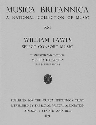 Lawes, William: Consort Music