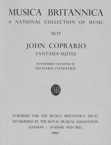 Coprario, John: Fantasia-Suites