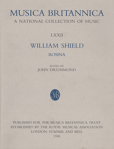 Shield, William: Rosina
