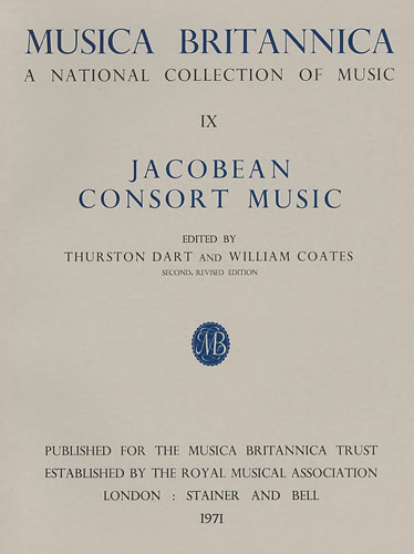 Jacobean Consort Music